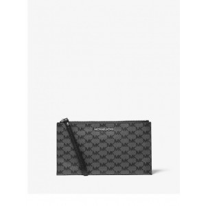 MICHAEL KORS LARGE ZIP CLUTCH WRISTLET JET SET ITEM (BLACK) - ETA (ESTIMATED TIME ARRIVAL) MALAYSIA 7 MARCH