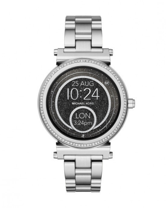 MICHAEL KORS SOFIA STAINLESS STEEL SMARTWATCH (SILVER) - ETA (ESTIMATED TIME ARRIVAL) MALAYSIA 7 MARCH