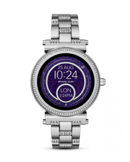 MICHAEL KORS BRADSHAW STAINLESS STEEL SMARTWATCH (SILVER) - ETA (ESTIMATED TIME ARRIVAL) MALAYSIA 7 MARCH