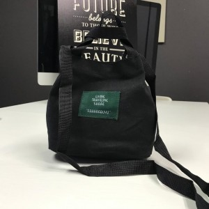 PURCHASE WITH PURCHASE (PWP) FUFU BAG BLACK