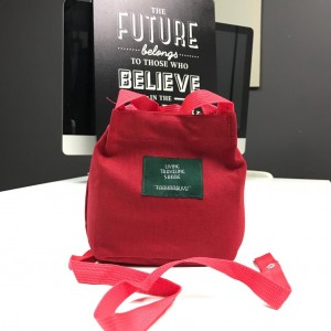 PURCHASE WITH PURCHASE (PWP) FUFU BAG RED