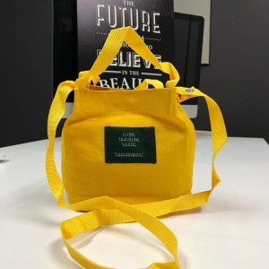 PURCHASE WITH PURCHASE (PWP) FUFU BAG YELLOW